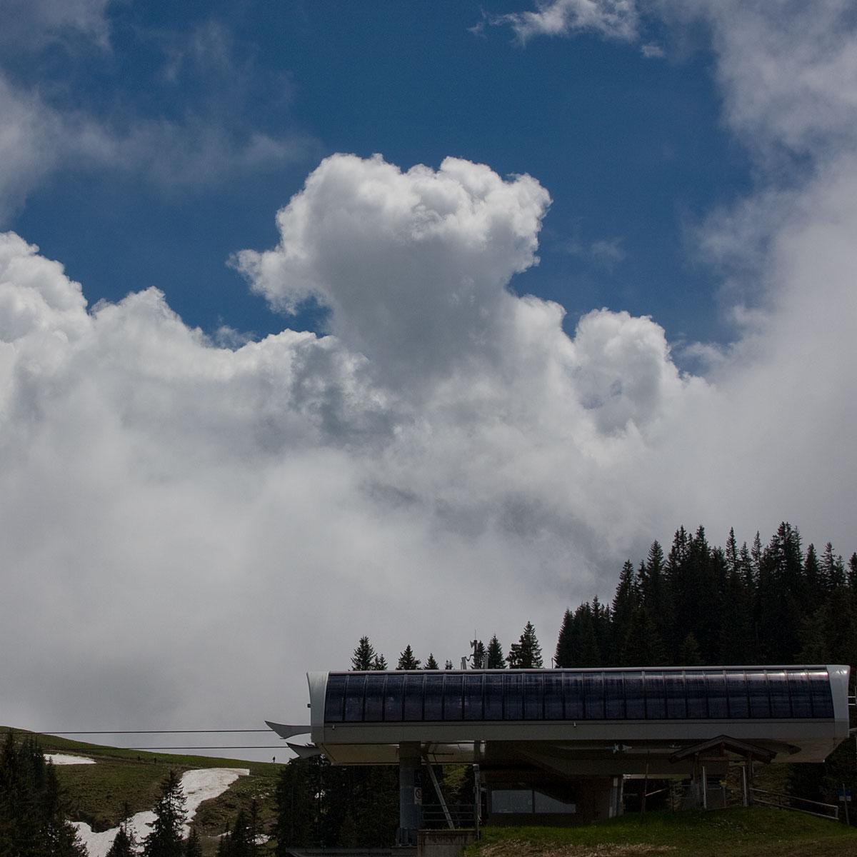 Wolkenbildung im Gewitter
