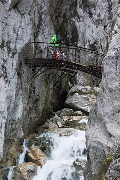 Artikelbild Höllentalklamm Steinbock Bergtouren Tageswanderung