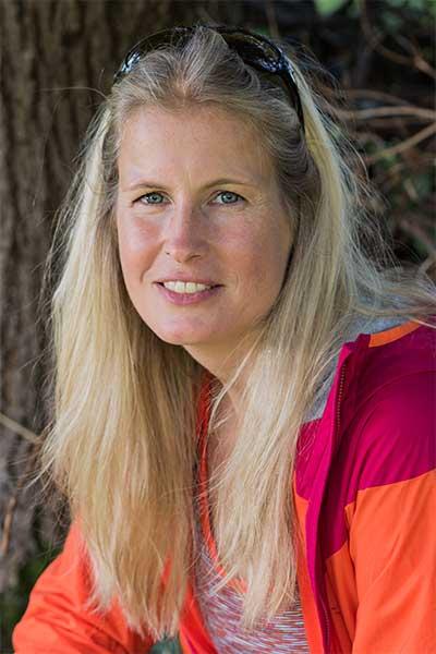 Artikelfoto Bergwanderführerin und Gründerin der Bergschule Steinbock Bergtouren: Michaela Zimmermann