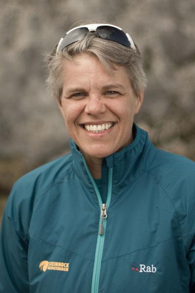 Artikelfoto Bergwanderführerin Stefanie Wolf