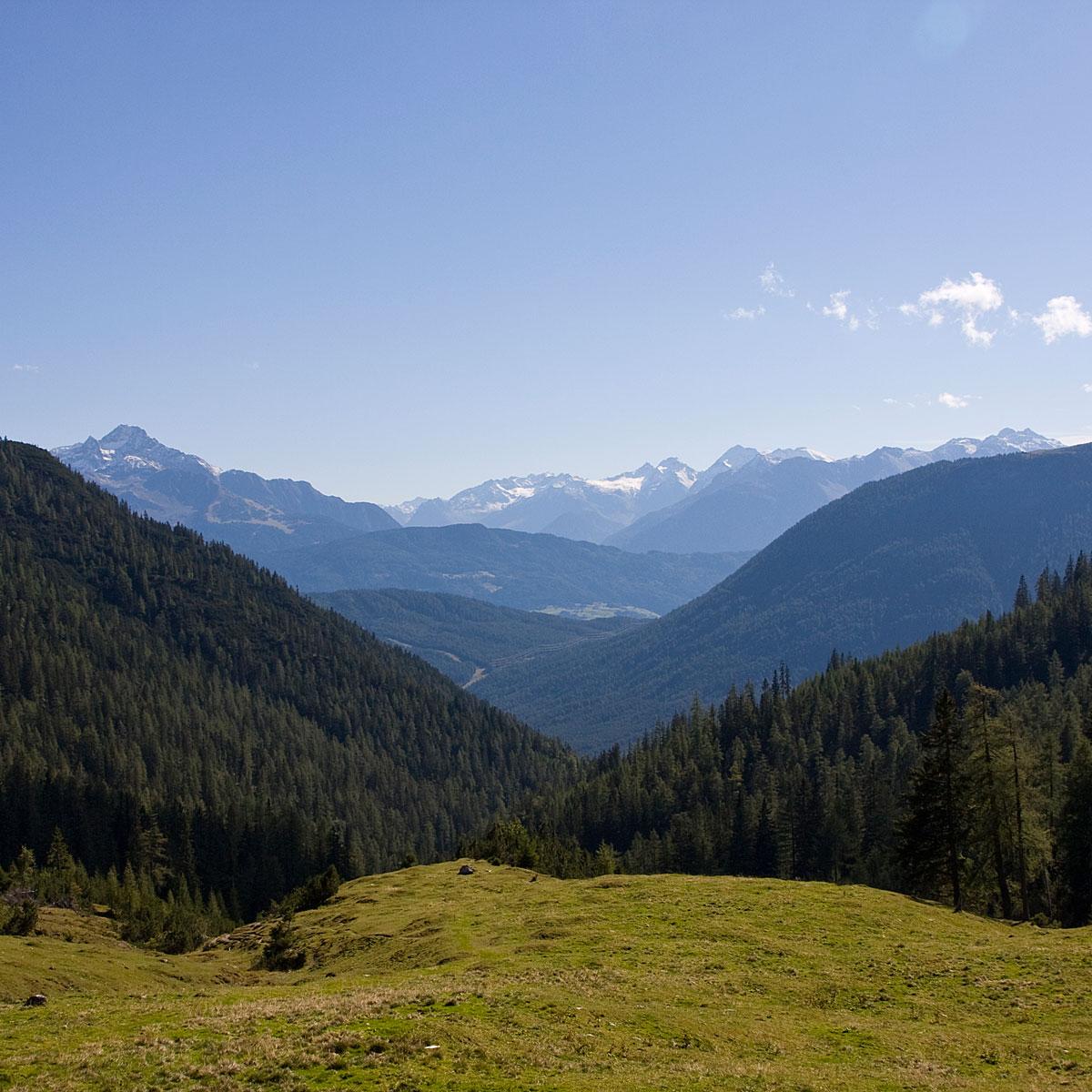 Panoramablick von der Marienbergalm