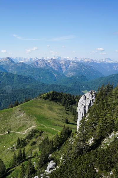 Artikelbild Isarwinkeltour Fernsicht Zugspitze