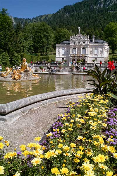 Artikelbild Wanderstudienreise Schloss Linderhof