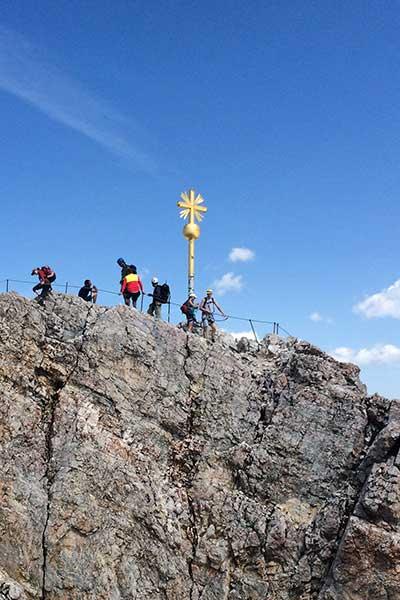 Artikelbild Wanderstudienreise Zugspitze