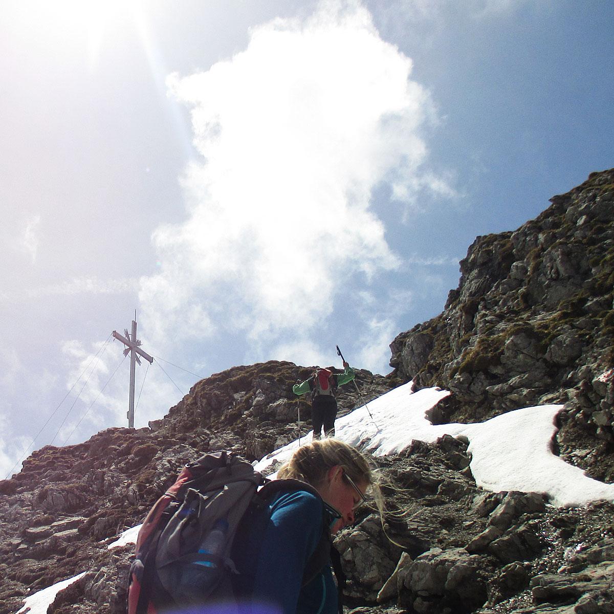 Artikelbild Kramerspitz Gipfel