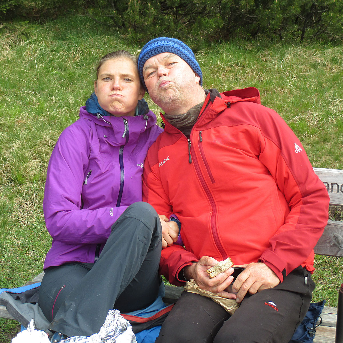 Artikelbild Kramerspitz Grimassenschneider Nina und Michi