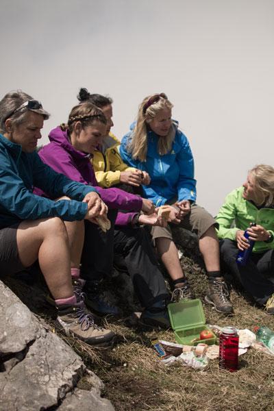 Artikelbild Steinbock Bergtouren Film Brotzeit am Berg
