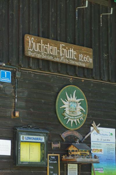 Bergimpressionen Isarwinkeltour Buchsteinhütte