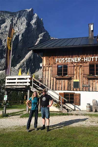 Artikelbild Hüttenwanderung in den Tannheimer Bergen Füssener Hütte