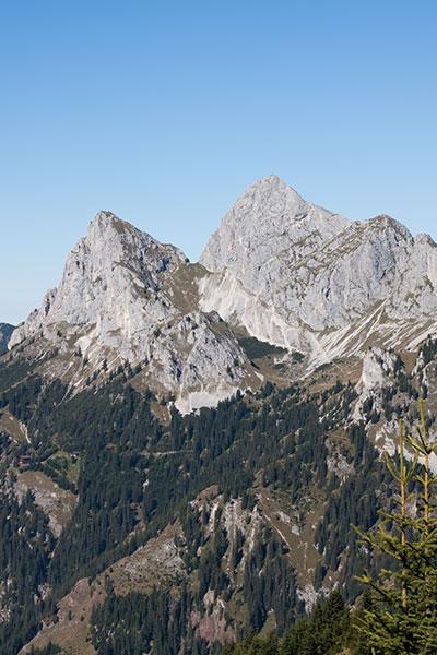 Artikelbild Tannheimer Berge im Allgäu Rote Flüh und Gimpel