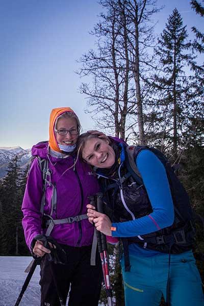 Artikelbild Steinbock Bergtouren Bergwanderführerinnen Micha und Nina