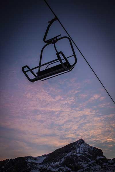 Artikelbild Steinbock Bergtouren Skitour 2015 Abendstimmung