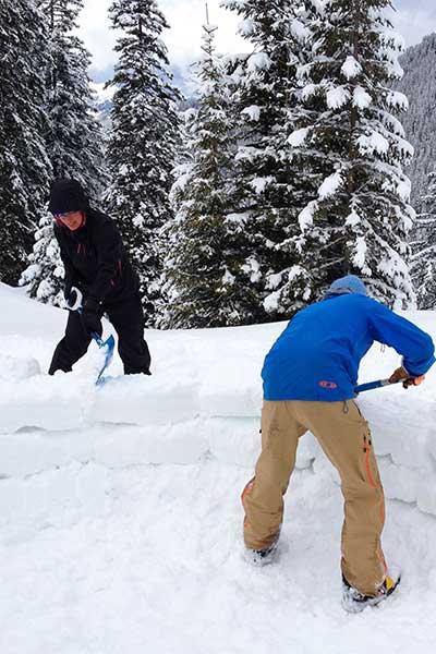 Artikelbild Iglubau mit Schneeziegeln