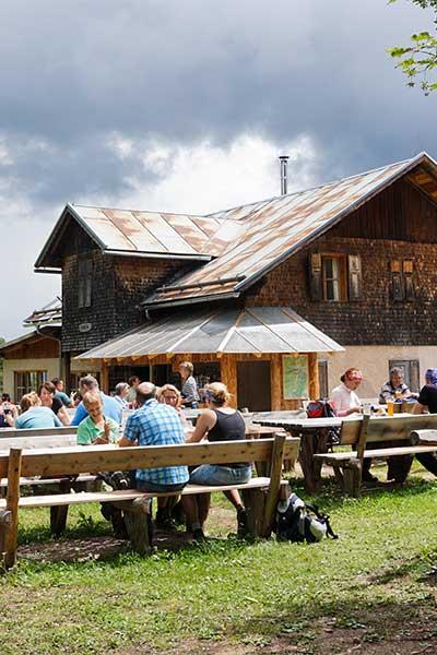 Artikelbild Südtirol Rosengarten Tschafonhaus
