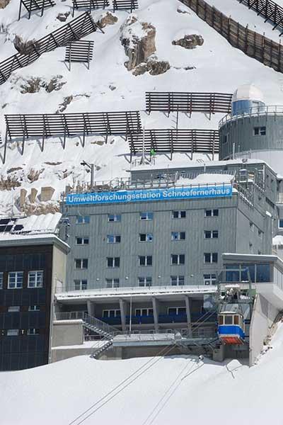 Artikelbild Besteigung Zugspitze Schneefernerhaus