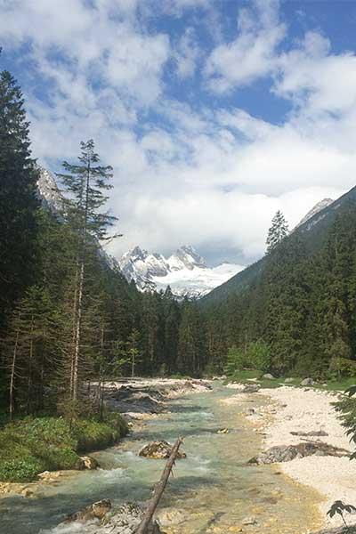 Artikelbild Auf dem Weg zur Zugspitze