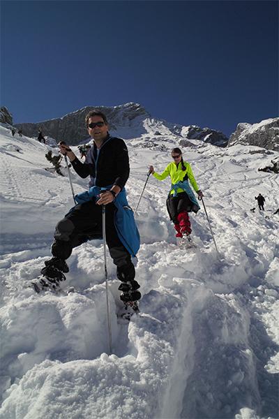 Artikelbild Einführung ins Schneeschuhwandern