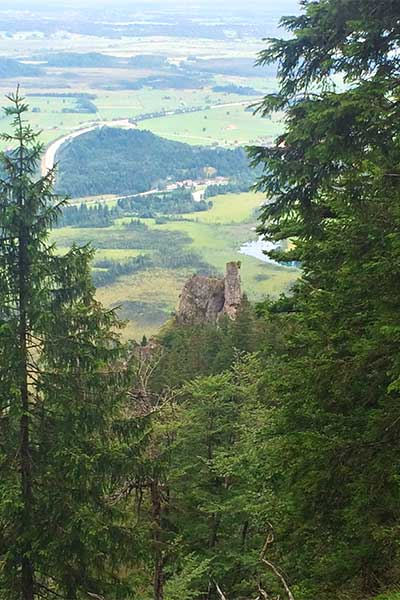 Beitragsbild Hüttenwanderung Teufelkapelle