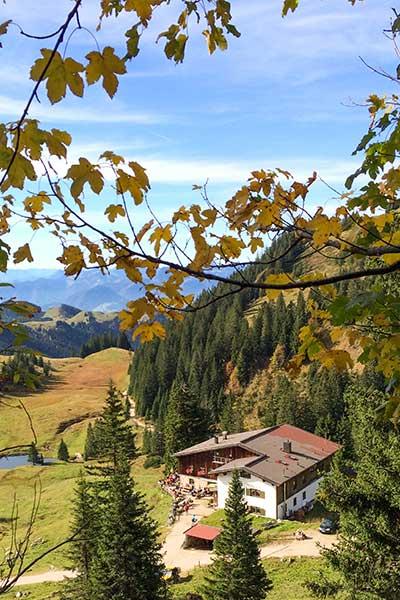 Artikelbild früher Herbstbeginn in den Bergen
