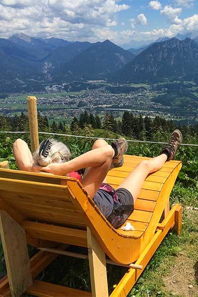 Artikelbild Glücksempfinden in den Bergen