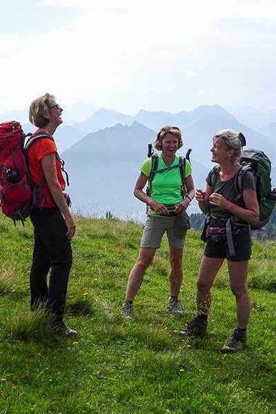 Artikelbild Glücklichsein in den Bergen