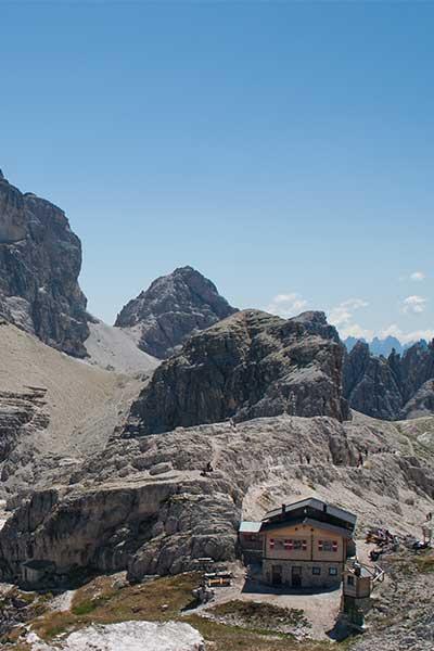 Artikelbild Drei Zinnen Hüttenwanderung Südtirol